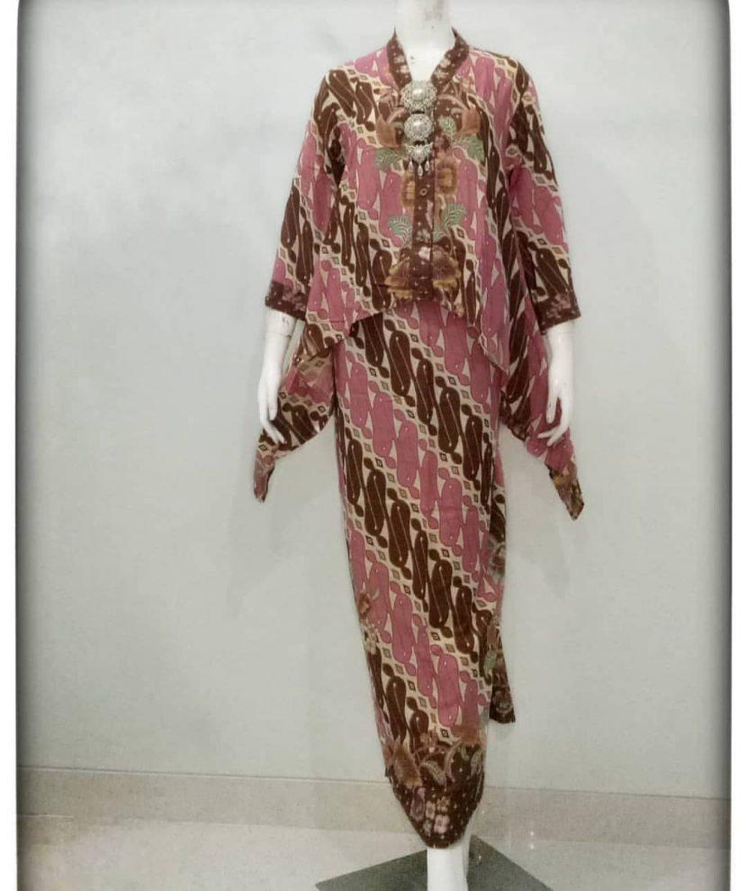 gamis batik tulis