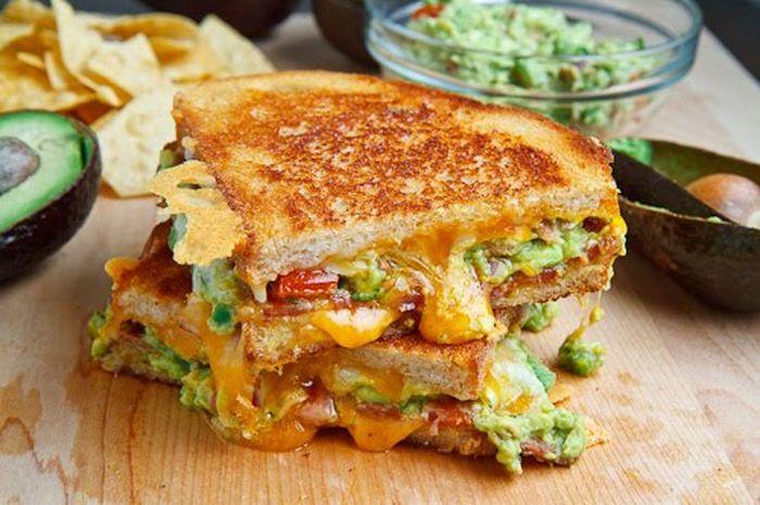 cara membuat sandwich keju