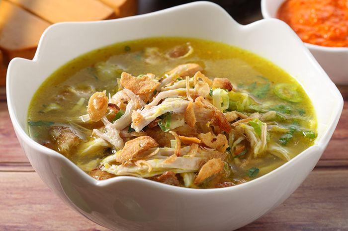 resep soto ayam kuning santan