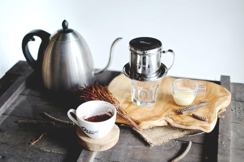 cara seduh kopi susu