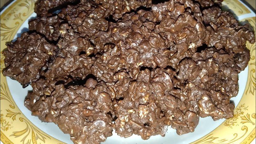 resep coklat kacang beng beng