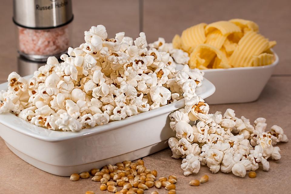 cara membuat popcorn asin