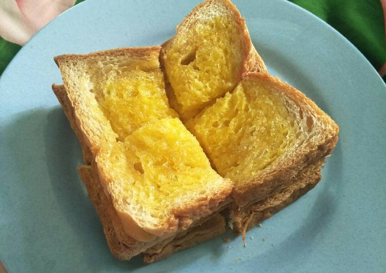 resep roti tawar kukus madu