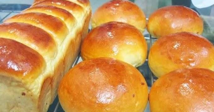 cara membuat roti sederhana