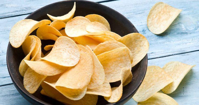 cara membuat keripik kentang putih