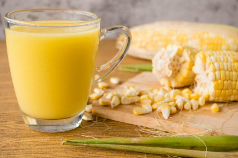 cara membuat jus jagung manis