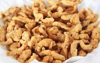cara membuat keripik usus ayam crispy