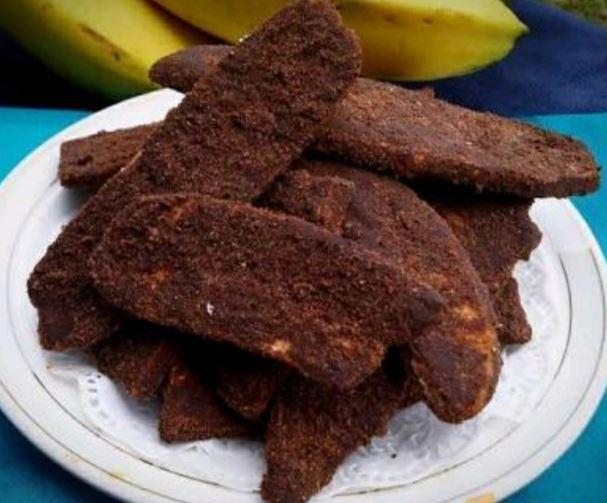 cara buat keripik pisang coklat