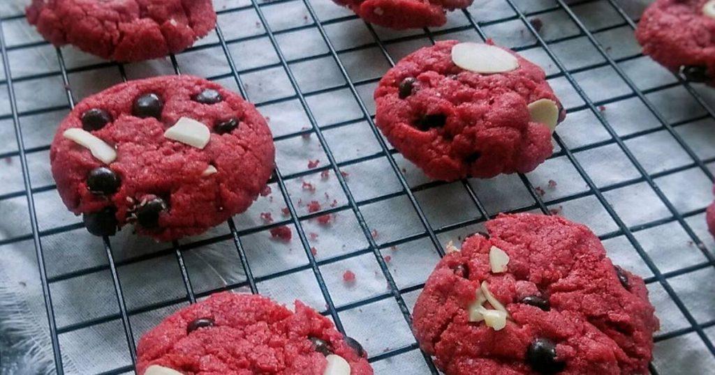 cara membuat kue red velvet untuk lebaran