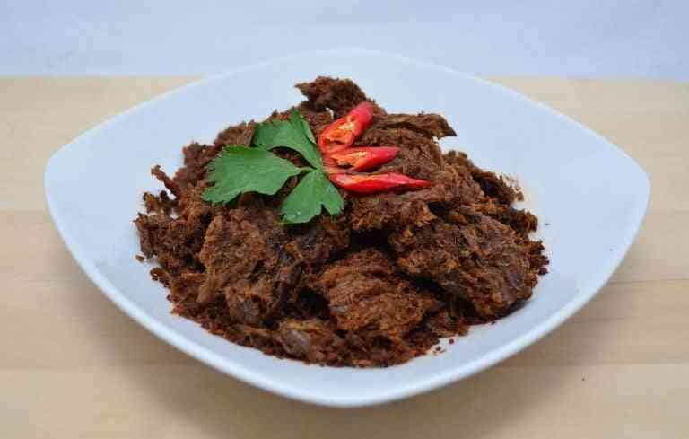 cara masak rendang daging sapi yang empuk